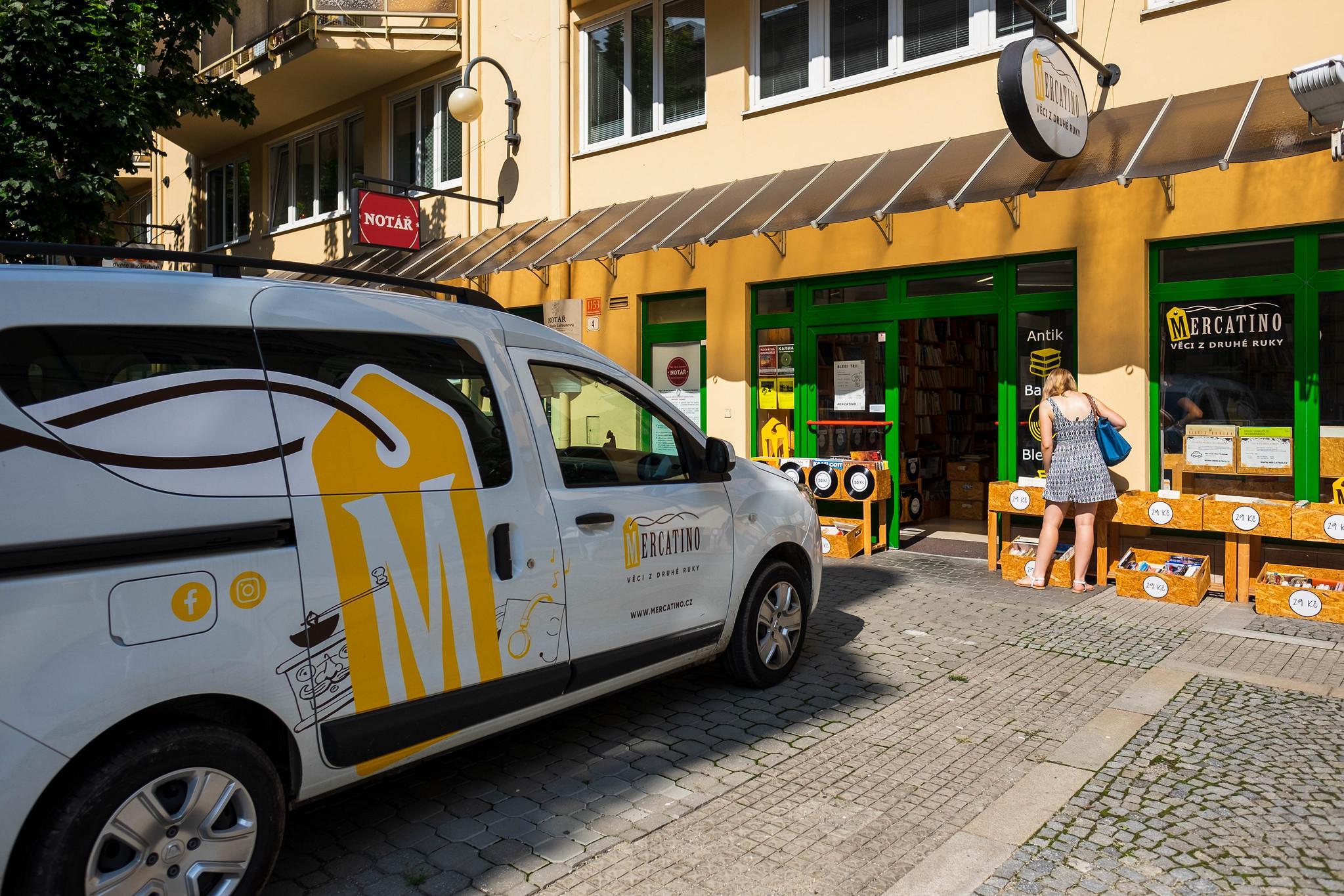Prodejna v Olomouci